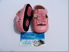 Girls Pink Leather Pre walker Shoes for baby's,Toddler,Kids for age 6 -18months