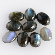 9X7MM Oval Shape, Amazing Genuine Labradorite Calibrated Cabochons AG-209