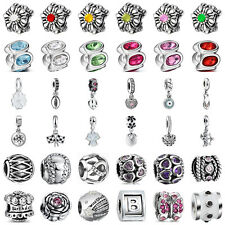 European Sterling Fashion 925 Jewelry Silver Charms Bead for Lot Bracelet Chain