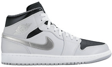 NEW Nike Air Jordan 1 One MID Basketball Shoes Sneaker gray 554724 032 WOW SALE