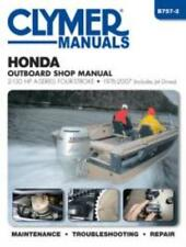 Honda 2-130 HP A-Series 4-Stroke Outboards Jet-Drives 1976-2007 Service Manual