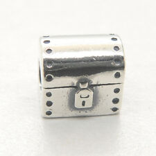 Genuine Authentic S925 Sterling Silver Treasure Chest Charm
