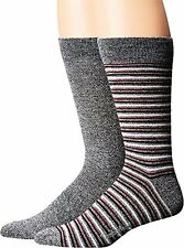 Timberland Mens Marled 2-Pack Pattern Crew Socks  Sock- Choose SZ/Color.