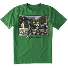 Boston Sports Apparel. Boston Celtics Green Line Novelty Tee - Kelly Green
