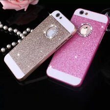Luxury Bling Glitter Crystal Hard Back Phone Case Cover for iPhone 5s 6 6s 7Plus