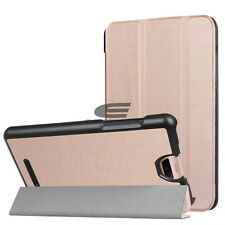 Folio Triple Fold PU Leather Stand Full Cover Case for Acer Iconia Talks A1-734