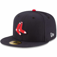 Boston Red Sox New Era MLB AC On-Field Alt 59FIFTY Fitted Hat - Navy