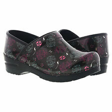 Koi by Sanita Womens Clog (Printed Synthetic Leather) All Sizes Nurse Shoe
