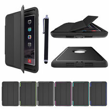 Shockproof Heavy Duty Hard Case Smart Cover for Apple iPad 4 3 2 mini Air Pro