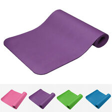 Durable NBR 10MM Yoga Mat Non-slip Thick Exercise Pad Health Lose Weight Fitness