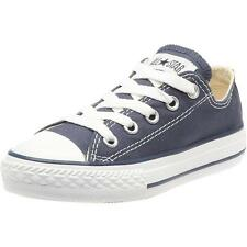 Converse Chuck Taylor All Star Junior Dark Navy Textile Trainers