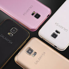 Luxury Aluminum Metal Bumper Frame +PC Back Case Cover For Samsung Galaxy S7 S6