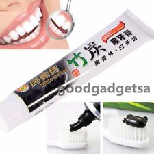 New 100g Bamboo Charcoal All-Purpose Teeth Whitening Clean Black Toothpaste UO