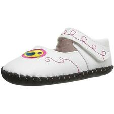 Pediped Originals Charlotte White Multi Leather Soft Soles