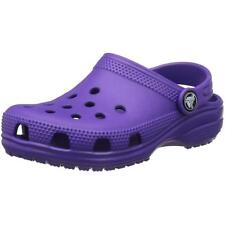 Crocs Kids Classic Clog Ultraviolet Croslite Sandals