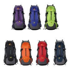 50L Waterproof Outdoor Backpack Camping Hiking Climbing Travel Bag Rucksack Pack