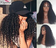 Curly Full Lace Front Human Hair Wig Indian Remy Hair Lace Wigs For Black Women