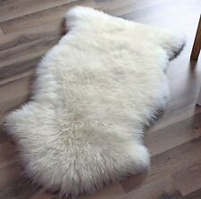2.1ft. x 3.3ft. Australian Genuine Sheepskin Rug Natural Fur Sofa Carpet