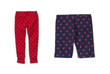 NWT Gymboree Homecoming Kitty red polka dot leggings 6 or navy biker shorts 4T