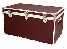 "British Mossman Strong Boarding School 36"" Cabin Storage Trunk - Luggage Cases"