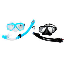 Scuba Diving Accessary Dive Mask Dry Snorkel Set Scuba Snorkeling Mask Gear Kit