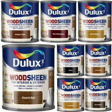 Dulux Woodsheen Quick Dry Interior & Exterior 750ml Stain & Varnish - ALL COLORS
