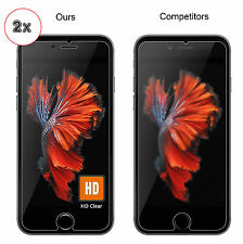 2X iPhone 6/6s Tempered Glass Screen Protector ~ Nuglas ~ FREE EXPRESS POST