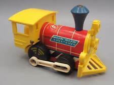 Vintage Fisher Price Toot-Toot Engine Childs Pull Toy Wood Train #643
