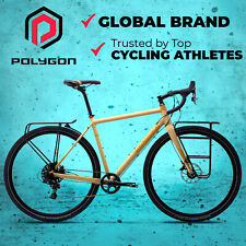NEW 2017 Polygon Bend RIV - Touring Disc Road Bike-SRAM Apex