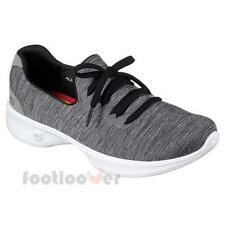 Shoes Skechers Go Walk 4 - All Day Comfort Sneakers 14177 gybk Woman Grey Black