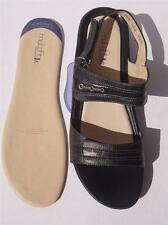 New Women Leather Diana Ferrari Multifit Shoe/Sandal Blk Sz 7/8/9/10/11.5/12/13