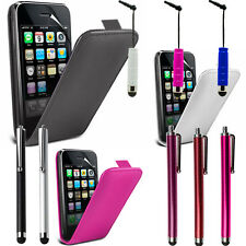 protective Cover for Apple iPhone 3G/ 3GS Stylus Phone Flip Case Cover Pouch