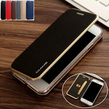Leather Wallet Card Slim Case Magnetic Flip Cover For Apple iPhone 7 6 6S Plus