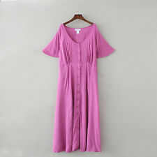 Womens Clothing The paragon Maxi Dress Plus Size Angel Sleeve Solid Pleated