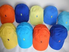 NWT Polo Ralph Lauren Men's Signature Pony Hat/Cap, One Size, Adjustable