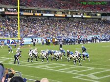 2 Indianapolis Colts vs Tennessee Titans 10/16 Tickets MNF 8th Row Field 122