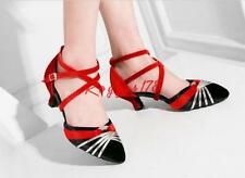 Womens pointy Toe kitten Heels Mary Jane buckle Strap Lolita Latin Pumps shoes