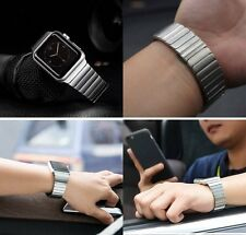 NEW!Link Bracelet Butterfly Stainless Steel Band Strap For Apple Watch 38/42MM