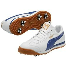 NEW! Puma Golf ROMA Classic Street Style  Color:White/Surf the Web-  Men