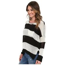 Volcom Striped Luv Junkie Sweater Size S