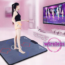HD Non-Slip Dancing Step Dance Pads Dancer Blanket Fitness Foot Print Mat to PC