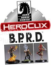 HeroClix HorrorClix B.P.R.D. Hellboy Miniature Figures Figurines Game Wizkids