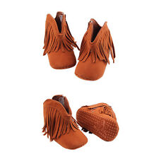 Tassels Anti-slip Boots Toddler Soft Soled Newborn Infant Baby Shoes Hot New