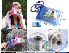PVC Waterproof Bag Underwater Pouch Dry Case Cover For Card Camera Transparent