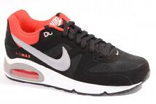 NIKE AIR MAX COMMAND MENS RUNNING SHOES BLACK RED GREY 397689 085