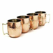 New Pure Copper Mug Handmade Hammered Moscow Mule Mug 18 oz