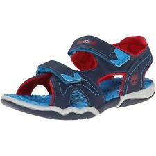 Timberland Adventure Seeker Junior Navy/Red Synthetic Flat Sandals