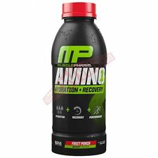 Muscle Pharm AMINO1 RTD 500ml *USA Brand - Fruit Punch, Lemon Lime Or Orange