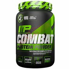 Muscle Pharm ATHLETES COMBAT PROTEIN POWDER 907g - Choc Peanut Butter Or Vanilla