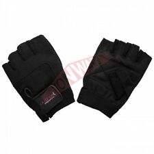 Outbak Bodysports LEATHER GYM GLOVES 1Pair Double Stitched - XS, Small Or Medium